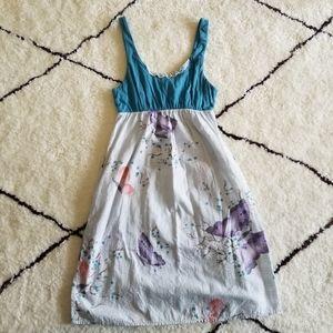 Anthropologie Lilka Butterfly Dress XS